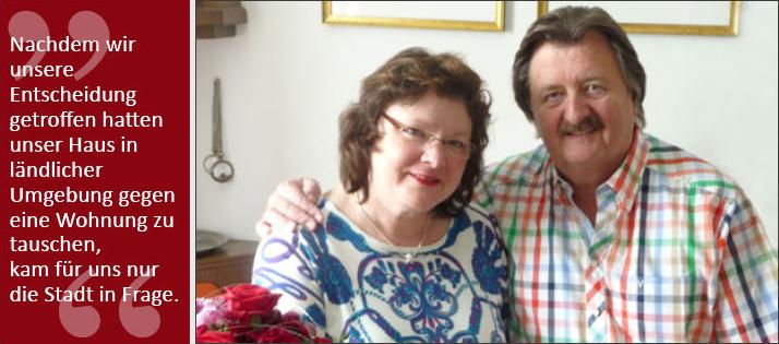 Gerd Schulz und seine Frau Christine